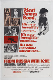 From Russia With Love-poster