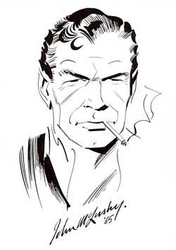 James Bond tegnet av John McLusky