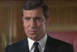 George Lazenby som James Bond