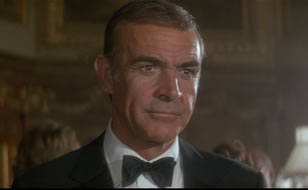 Sean Connery som James Bond