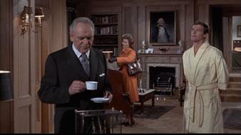 M, Moneypenny og Bond