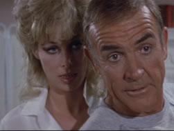 Patricia og James Bond