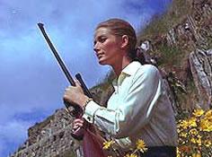 Tilly Masterson klar for å drepe Goldfinger