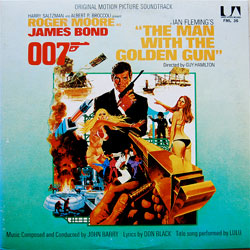 The Man With The Golden Gun soundtrack