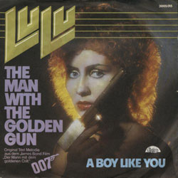 The Man With The Golden Gun single