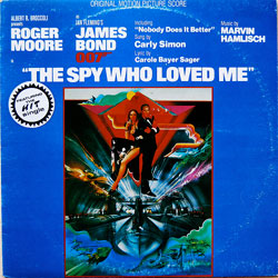 The Spy WHo Love Me soundtrack