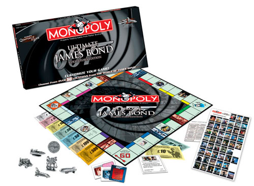 Monopoly - Ultimate James Bond Collector's Edition