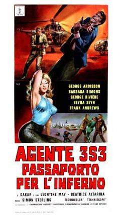 Agente 3S3: Passaporto per l'inferno
