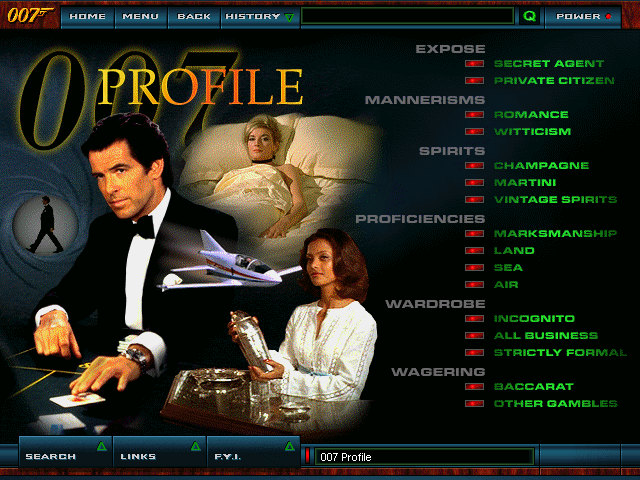 James Bond: The Ultimate Dossier - 007 profile