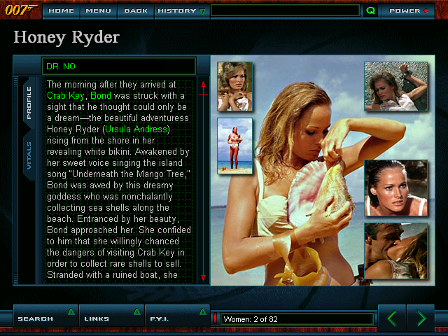 James Bond: The Ultimate Dossier - Honey Ryder