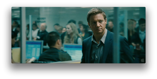 Aaron Cross (Jeremy Renner) i The Bourne Legacy