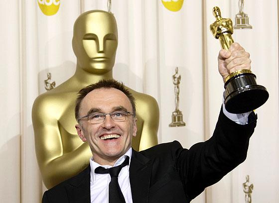 Danny Boyle vinner en Oscar for Slumdog Millionaire