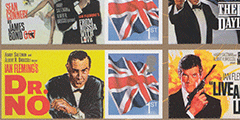 James Bond-frimerker fra Royal Mail