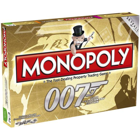 James Bond Gold Monopoly - 50th Anniversary Edition
