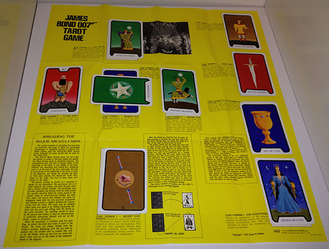 James Bond 007 Tarot Game Board
