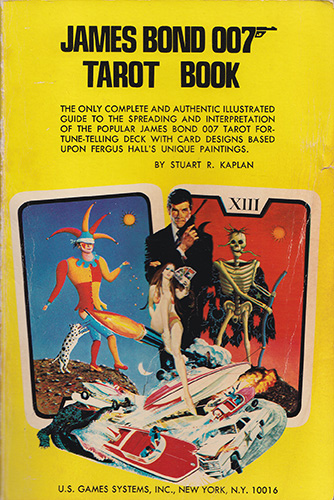 James Bond 007 Tarot Game Book