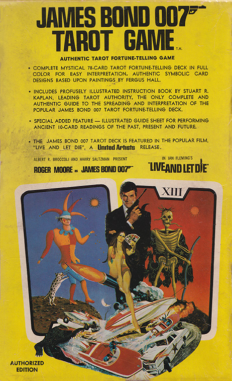 The James Bond 007 Tarot Game