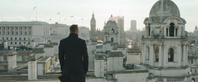 Skyfall olympisk trailer London