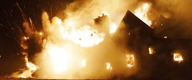 Skyfall olympisk trailer eksplosjon