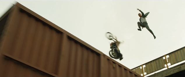Skyfall olympisk trailer tog