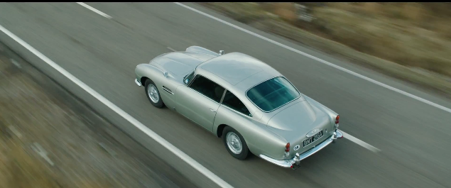 Skyfall olympisk trailer Aston Martin