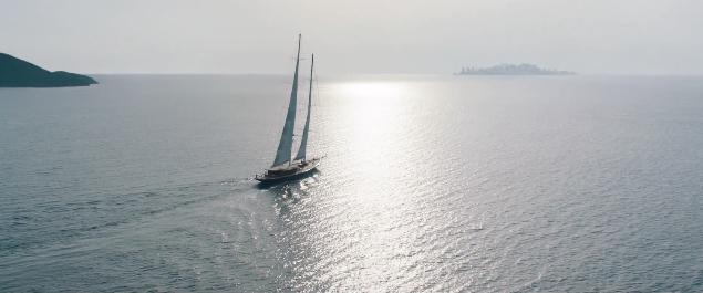 Skyfall olympisk trailer båt