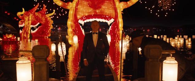 Skyfall olympisk trailer James Bond