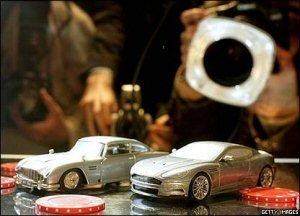 Modell av Aston Martin DBS
