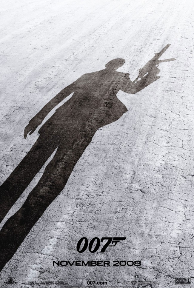 Teaserposter for Quantum of Solace