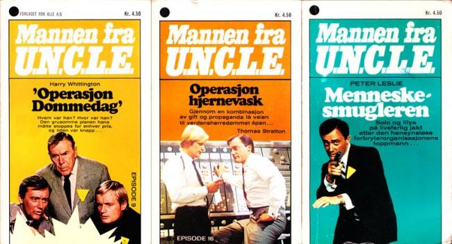 Mannen fra U.N.C.L.E.-bøker