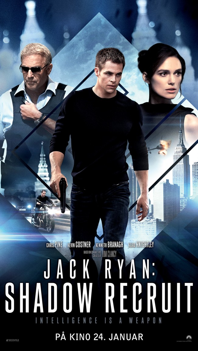 Norsk poster for Jack Ryan: Shadow Recruit