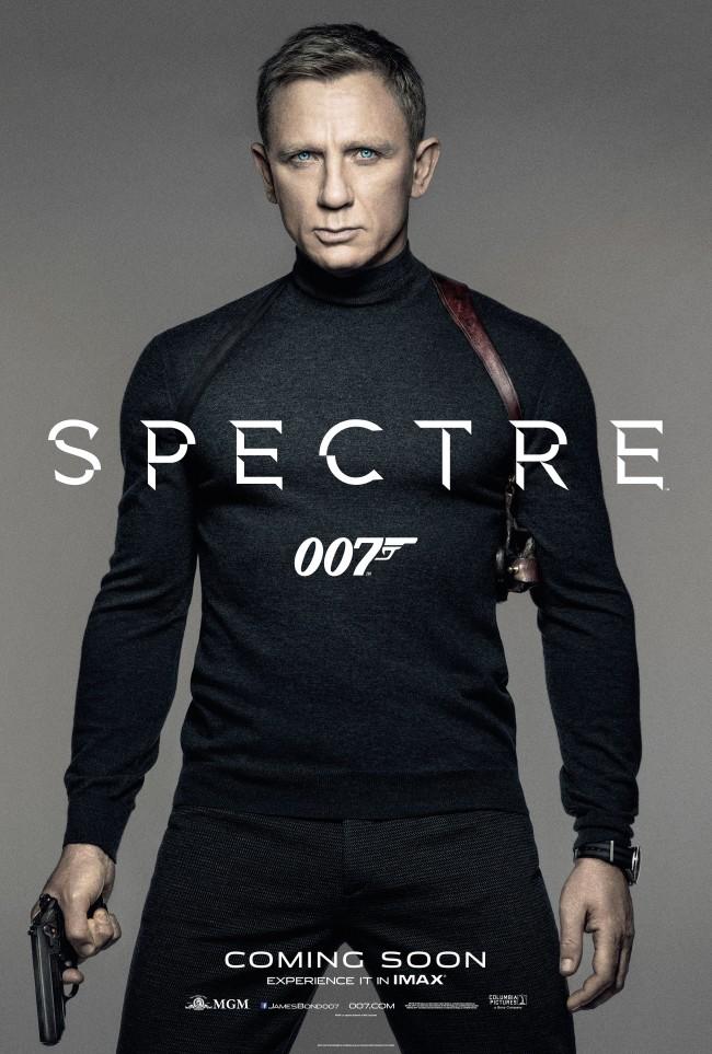 Poster fra Spectre (2015)