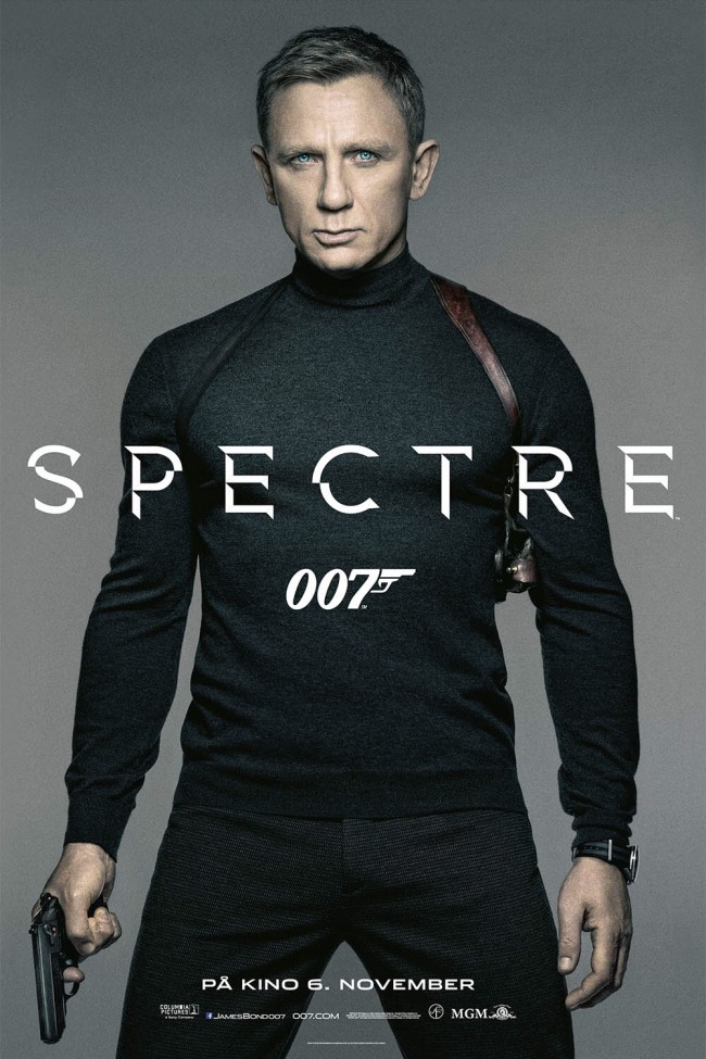Norsk poster for Spectre (2015)