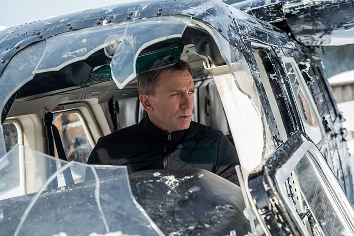 James Bond (Daniel Craig) i Skyfall (2015)