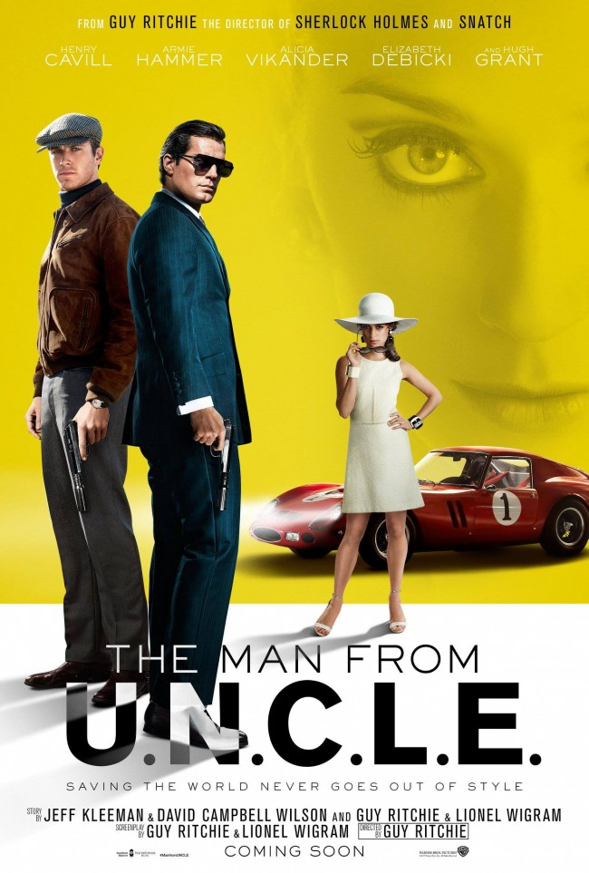 Poster fra The Man From U.N.C.L.E.